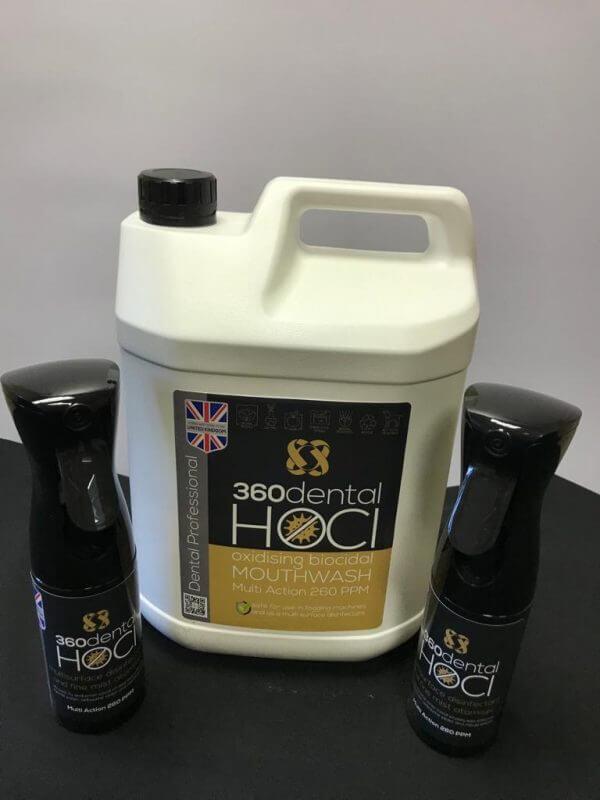 HOCl Oxidising Biocidal Solution