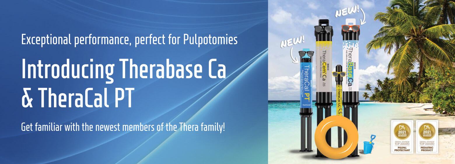 Introducing Therabase Ca & TheraCal PT